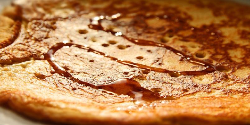 Pannekaker med peanøttsmør