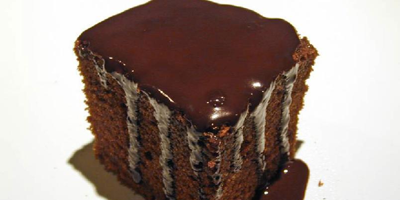Saftig sjokoladekake