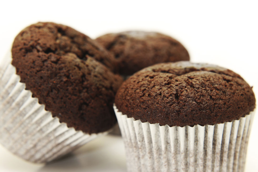 Sjokolademuffins uten sukker