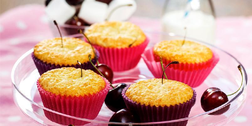Muffins med moreller