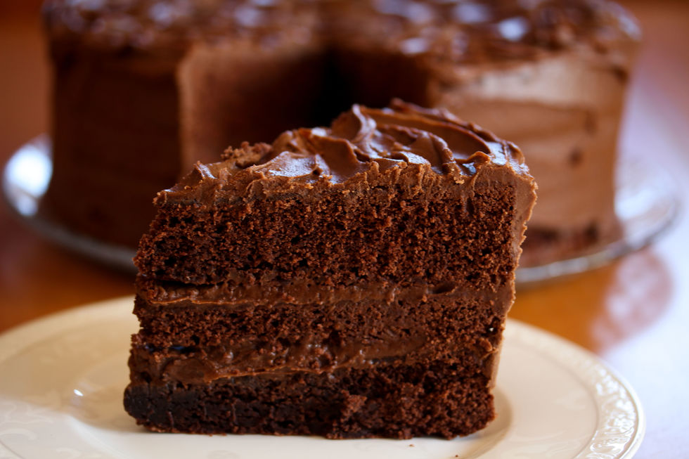 Amerikansk sjokoladekake – Chocolate Fudge Cake
