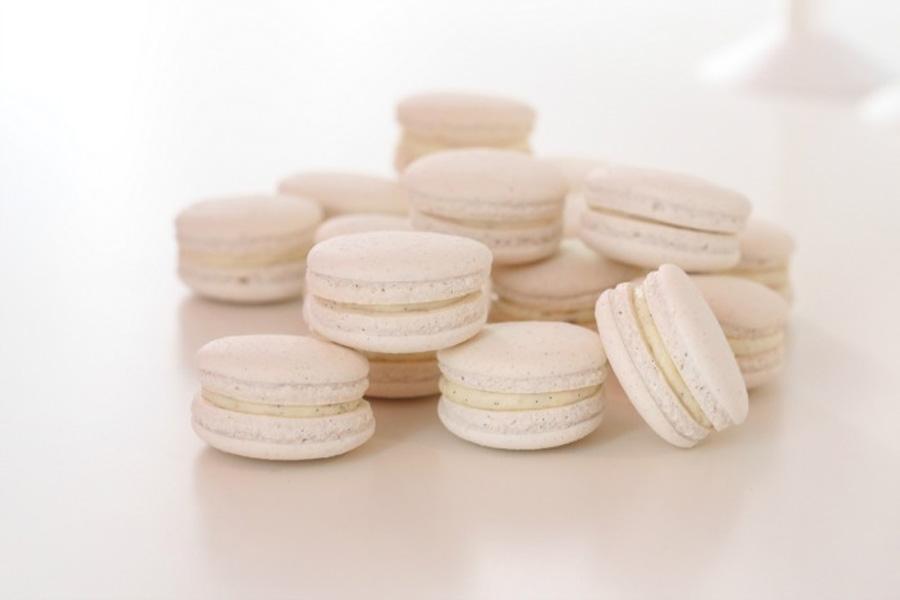 Perfekte vaniljemakroner