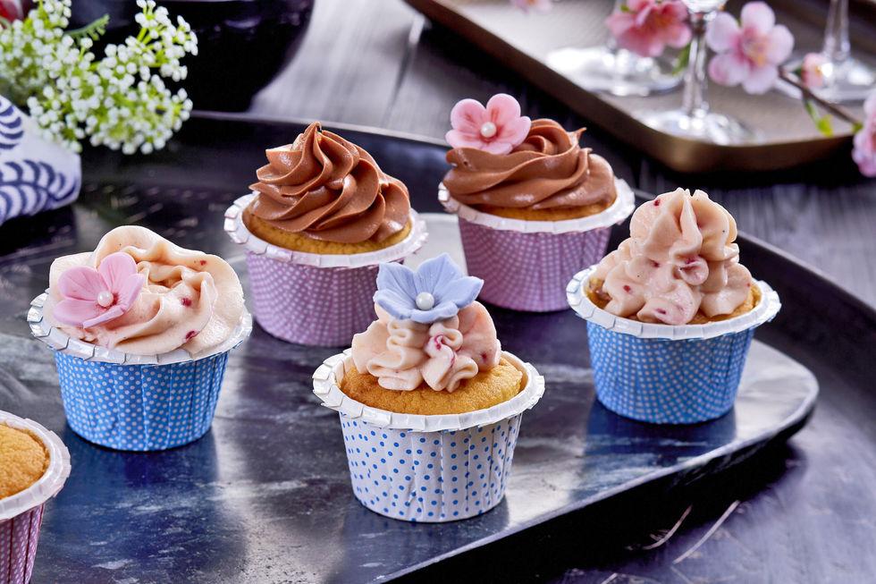 Grunnoppskrift til cupcakes