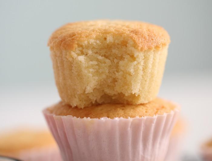 Manuelas glutenfrie vaniljecupcakes