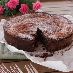 Gluten- og melkefri sjokoladekake
