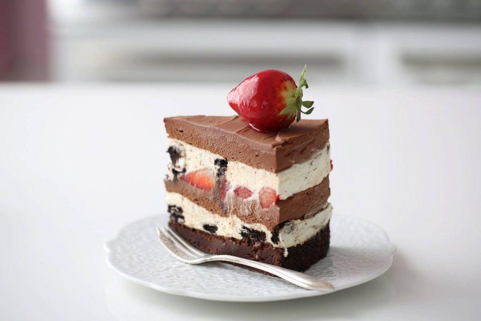 Oreo-sjokolade-vaniljekake