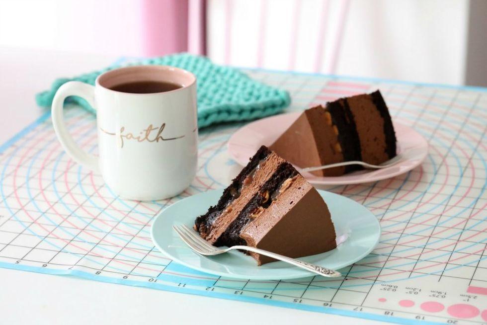 Snickers sjokoladekake