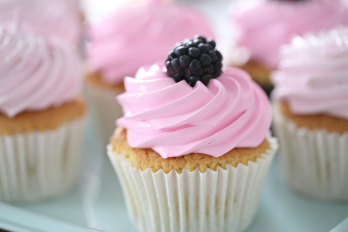 Manuelas vaniljecupcakes