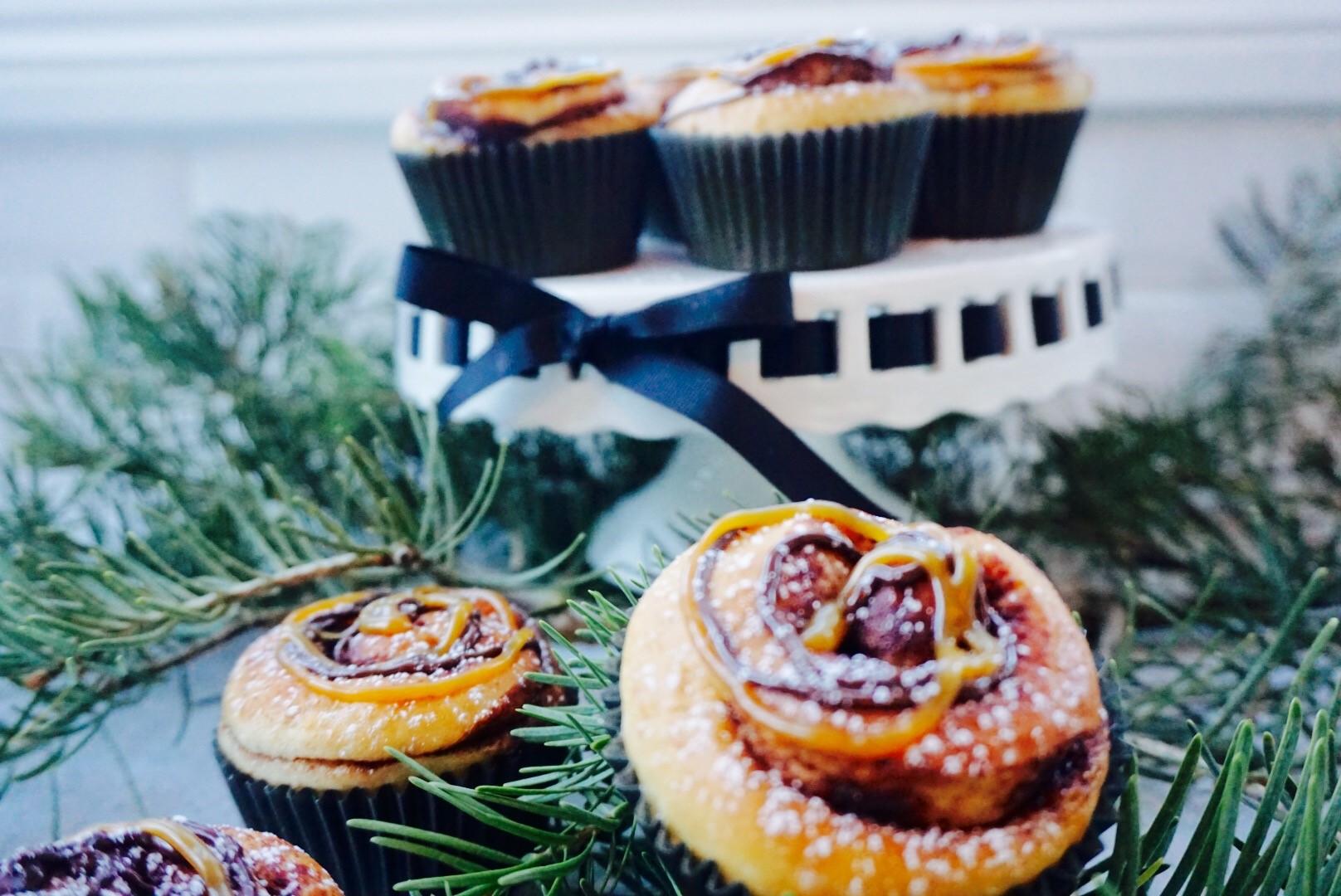Kanslesnurr med smak av jul. Foto: Leif Inge Bårdsen/Matmonster.blogg.no