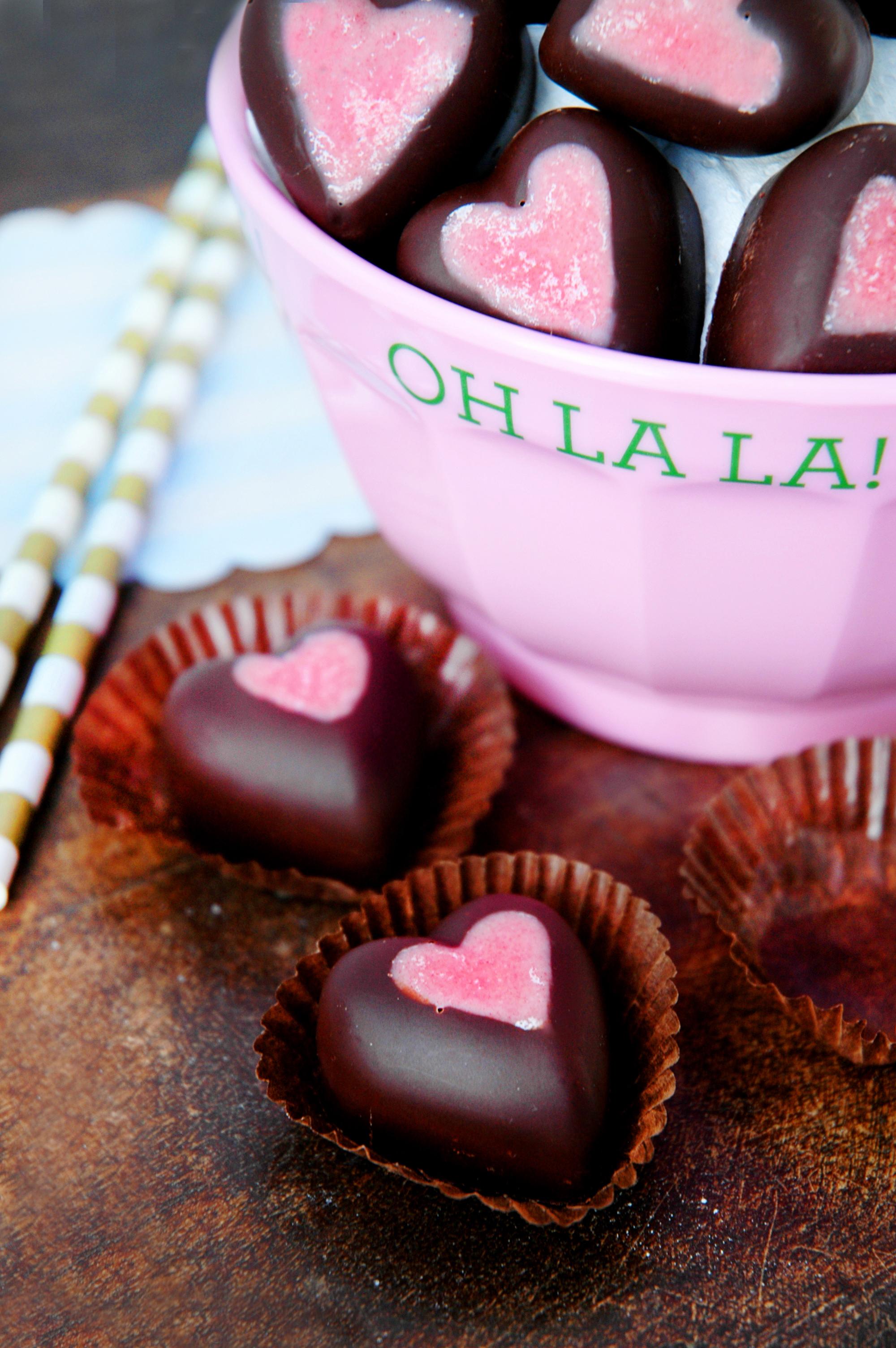 Bakelyst Valentineshjertesjokolader 1