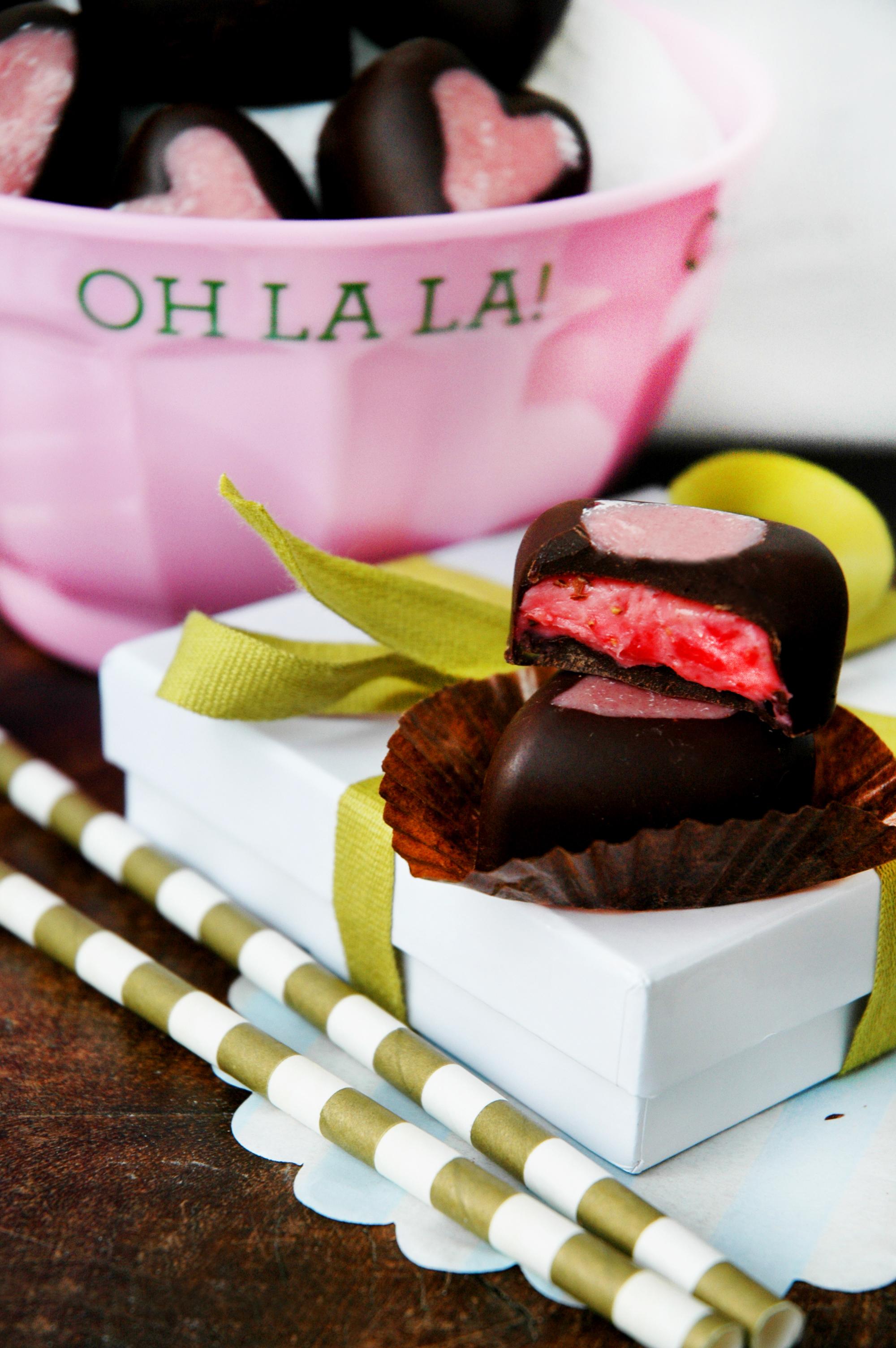 Bakelyst Valentineshjertesjokolader 2