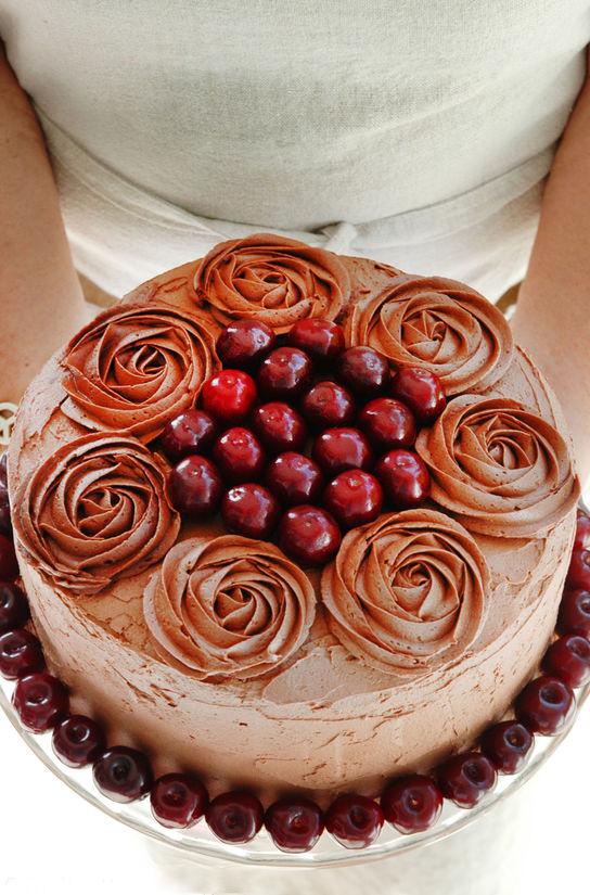 sjokoladekake blogg