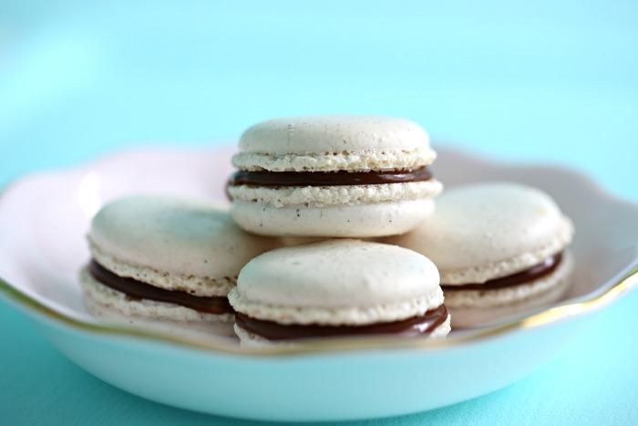makroner med vanilje