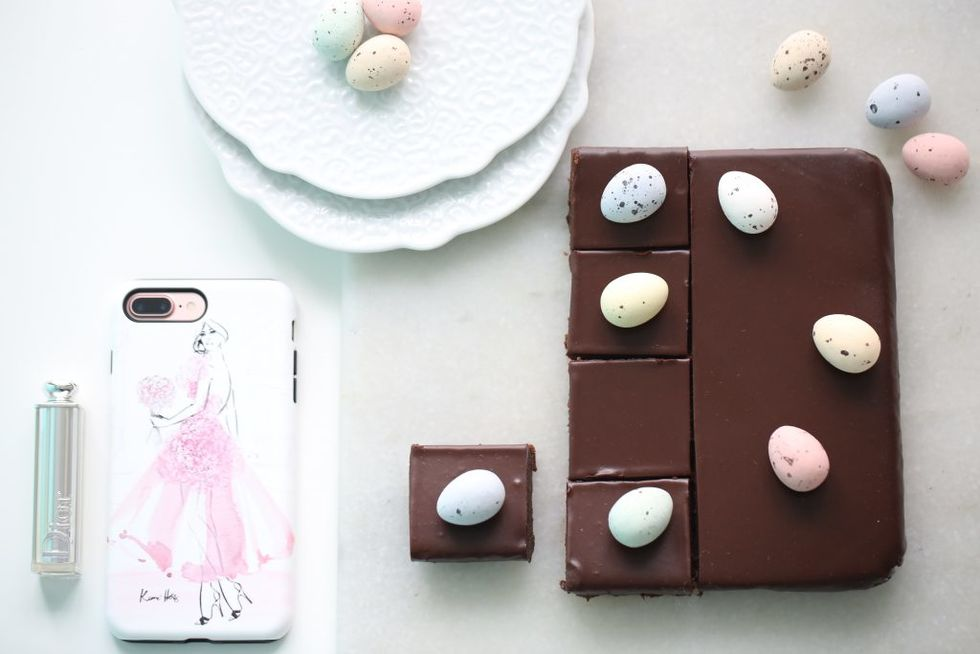 Silkemyk sjokoladekake