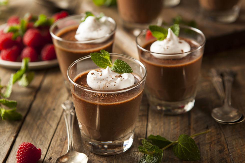 Sjokoladepudding med kaffesmak