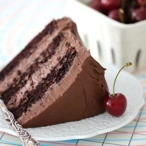 Gammeldags sjokoladekake